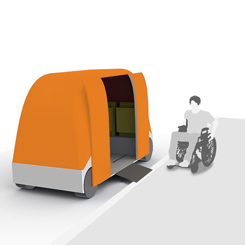 Accessible Driverless Vehicle
